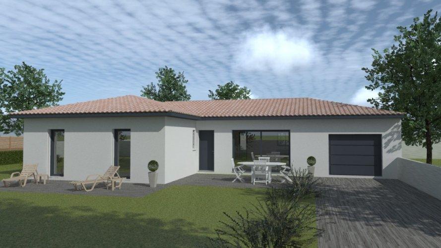 Maison contemporaine 8 m², construction individuelle  Maisons