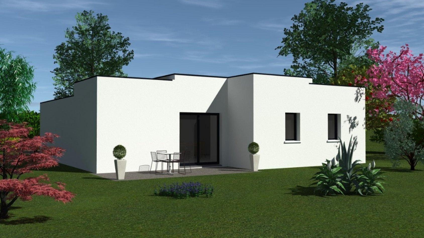 Maison Contemporaine Toit Terrasse maison contemporaine de plain pied avec toit terrasse à