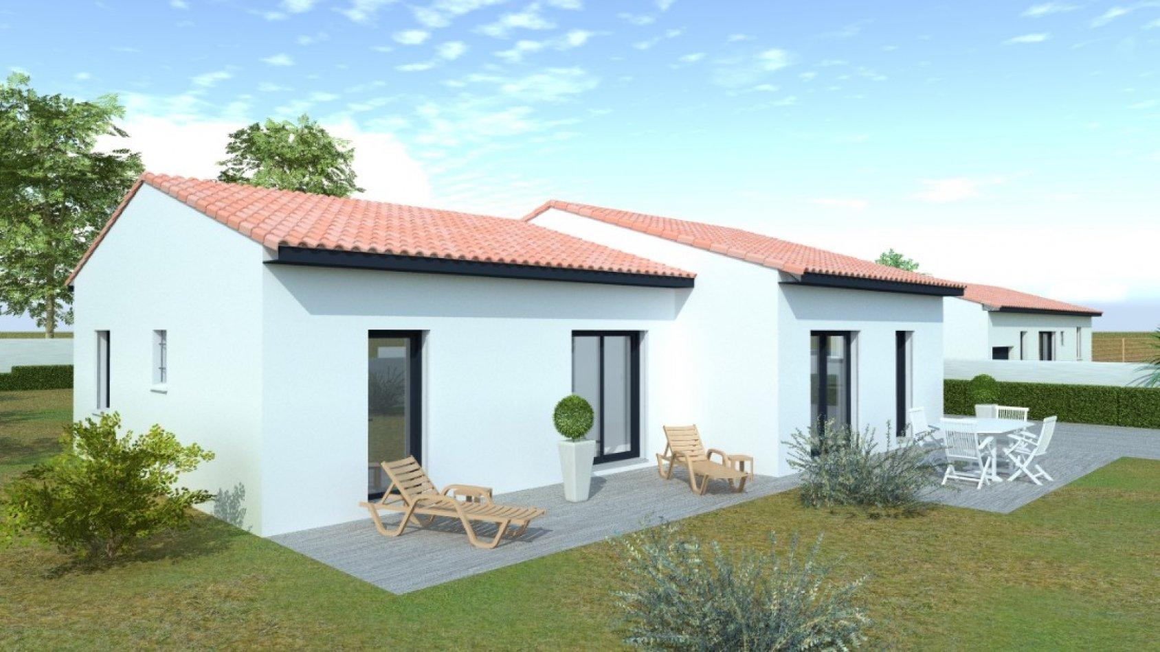 Porche D Entrée Maison Contemporaine maison contemporaine de 108m² de plain pied avec 3 chambres